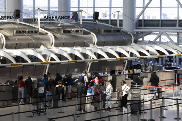 NY: JFK Airport As U.S. Plans Lifting Travel Restrictions For International Visitors