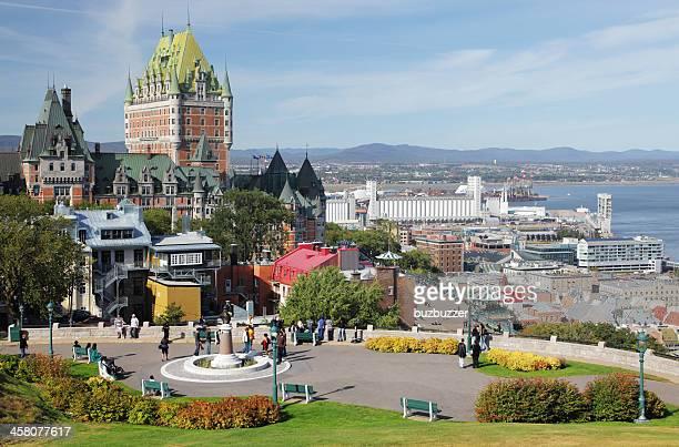 Travelers in Quebec City