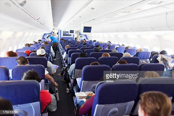 Travelers in the Airplane