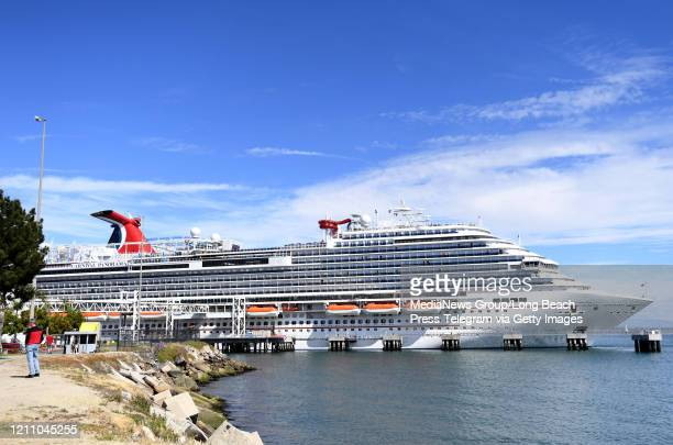 Travelers trying to board the Carnival Panorama cruise ship for a 7 day trip were met with a delay in Long Beach on Saturday March 7 2020 The ship...