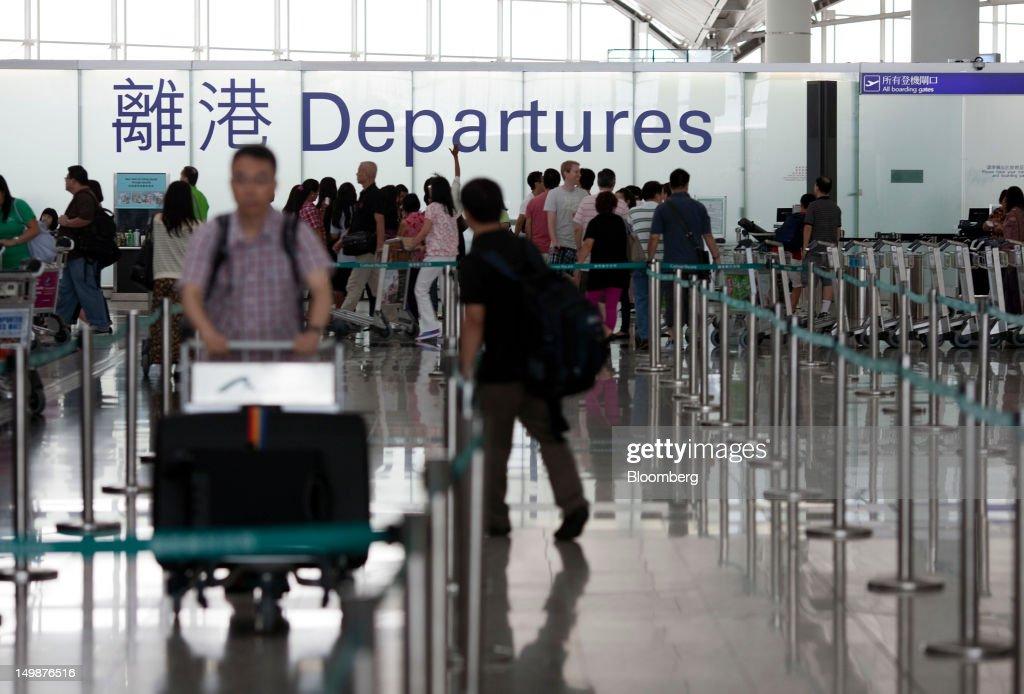 General Images Of Hong Kong International Airport : News Photo