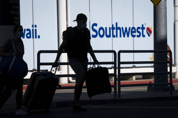 CA: Southwest Airlines Terminal Ahead Of Earnings Figures