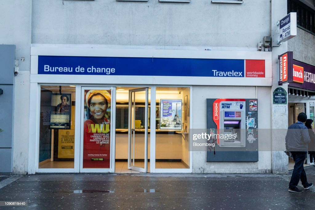 A Travelex Holdings Ltd Bureau De Change Stands In Paris France On News Photo Getty Images