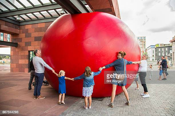Traveling Art Installation - Red Ball Project