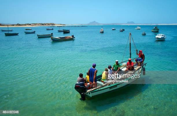Voyage en bateau au Cap-vert