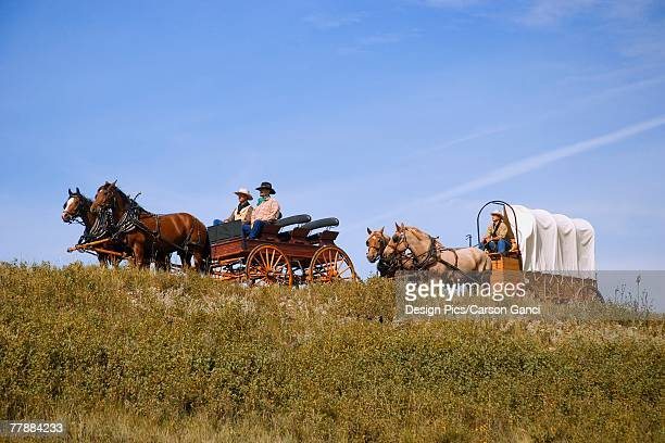 Traveling by horse