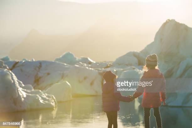 子供たちと一緒にアイスランドを旅行