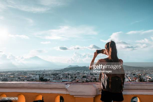 traveling is the best investment of your life - puebla state stock pictures, royalty-free photos & images