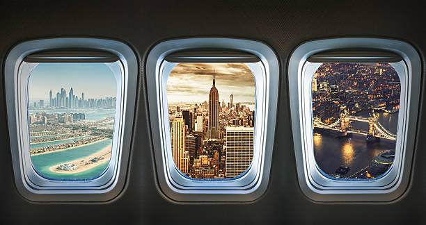 Traveling The World With An Airplane Wall Art