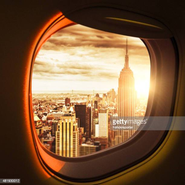 traveling to new york - first class stock photos and pictures