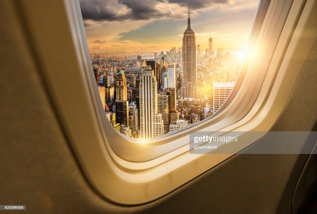 Traveling to New York : Stock Photo
