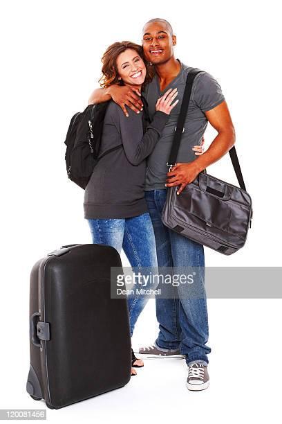 Voyage jeune Couple-isolé