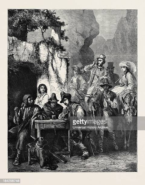 Travellers And Brigands, 1870