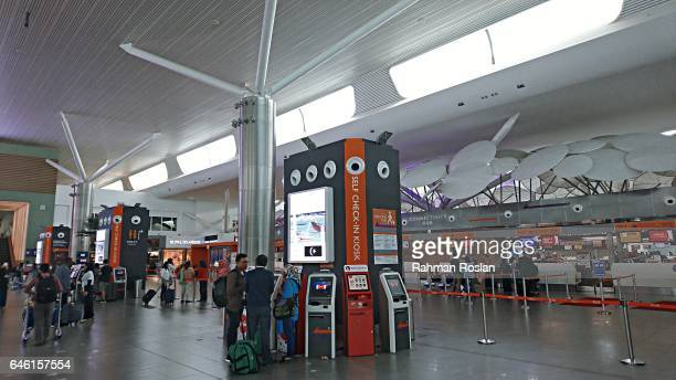 Travellers from Indonesia use the exact check in kiosk machine believed to the one used by Kim Jong Nam when he was attacked in Kuala Lumpur...