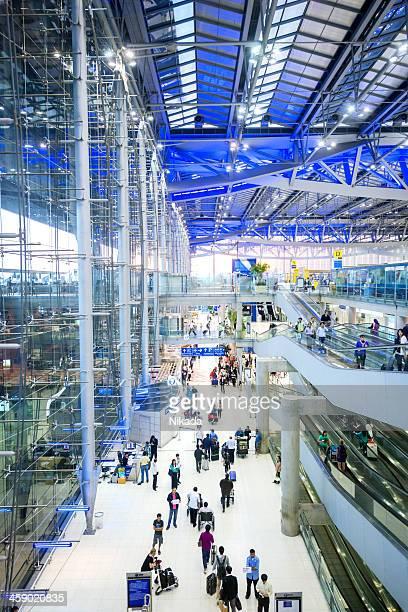 Travellers in Rush, Airport Bangkok