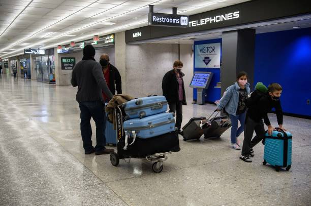 USA: Nation's Airports Brace For Thanksgiving Travel, As CDC Recommends Not To Travel Amid Coronavirus Pandemic
