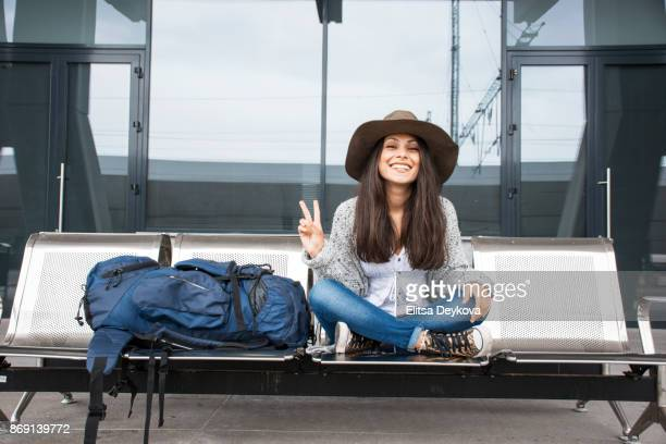 travelling alone - bohemia czech republic stock pictures, royalty-free photos & images