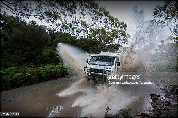 Travelling by 4WD on king Island