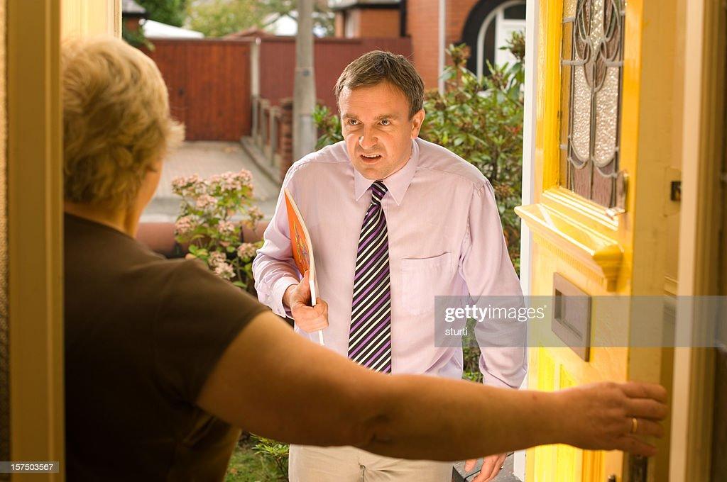 travelling salesman : Stock Photo