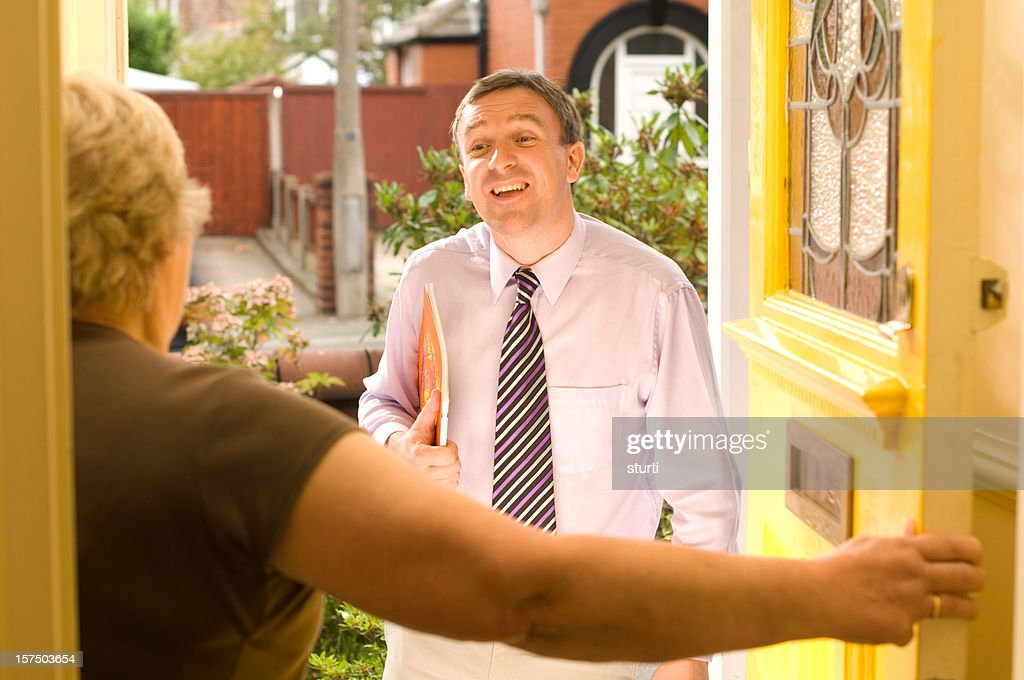 travelling salesman : Stock Photo