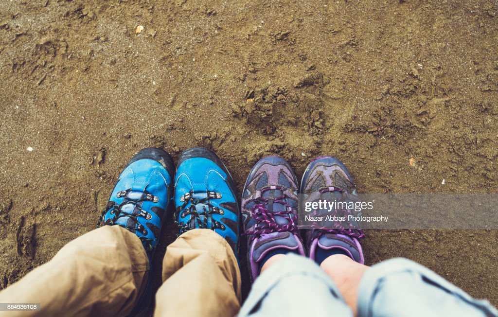 Travelling with partner. : Stock Photo