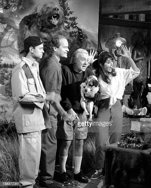 FRASIER Travels with Martin Episode 21 Pictured David Hyde Pierce as Doctor Niles Crane Kelsey Grammer as Doctor Frasier Crane John Mahoney as Martin...