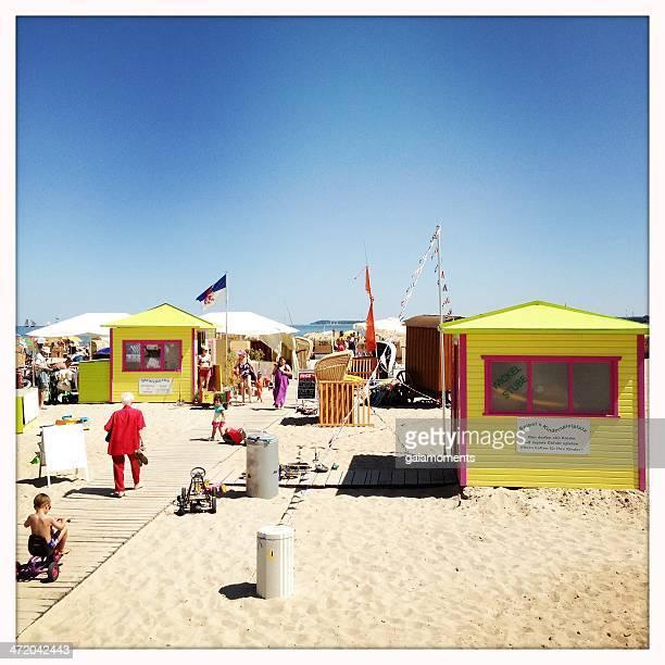 travemunde cena de praia - travemünde - fotografias e filmes do acervo