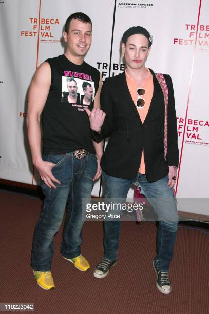 """Traver Rains and Richie Rich during 4th Annual Tribeca Film Festival - """"Rize"""" Arrivals at Pace Schimmel Center in New York City, New York, United..."""