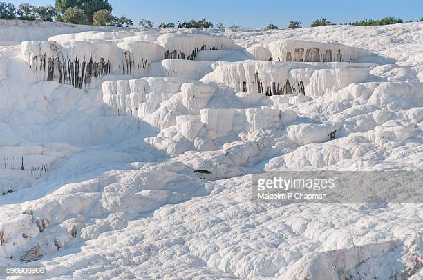 Travertine terraces at Pamukkale, Turkey