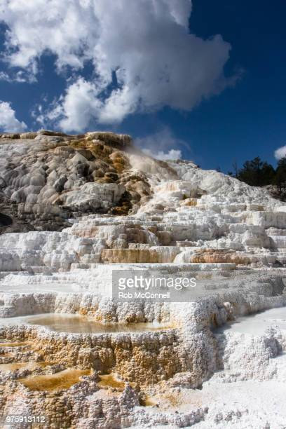 travertine terrice - mcconnell stock pictures, royalty-free photos & images