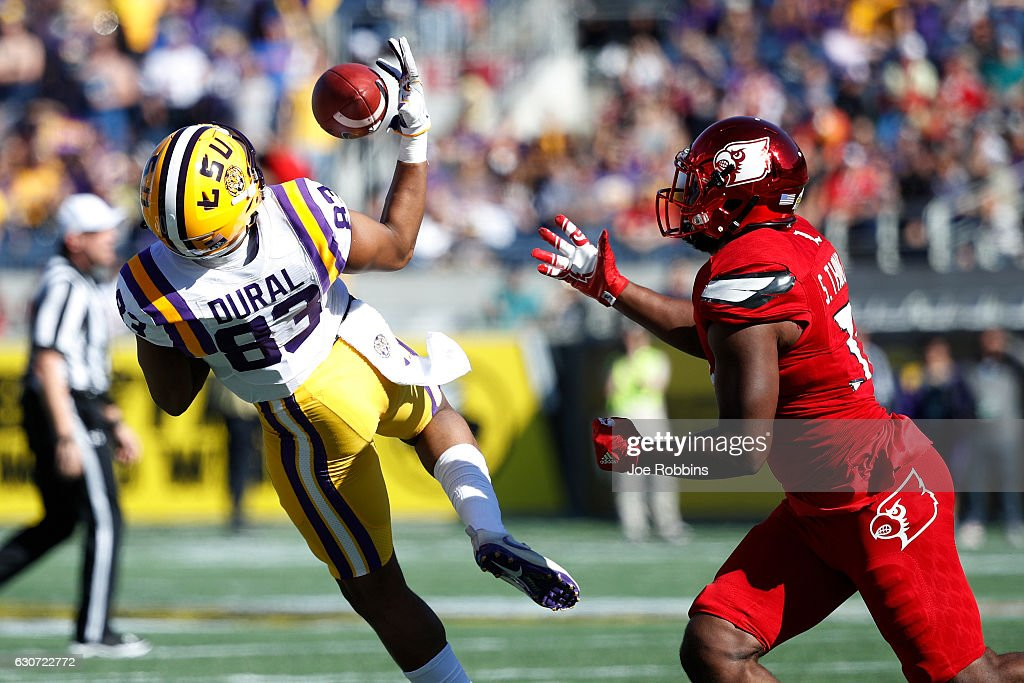 Buffalo Wild Wings Citrus Bowl - LSU v Louisville