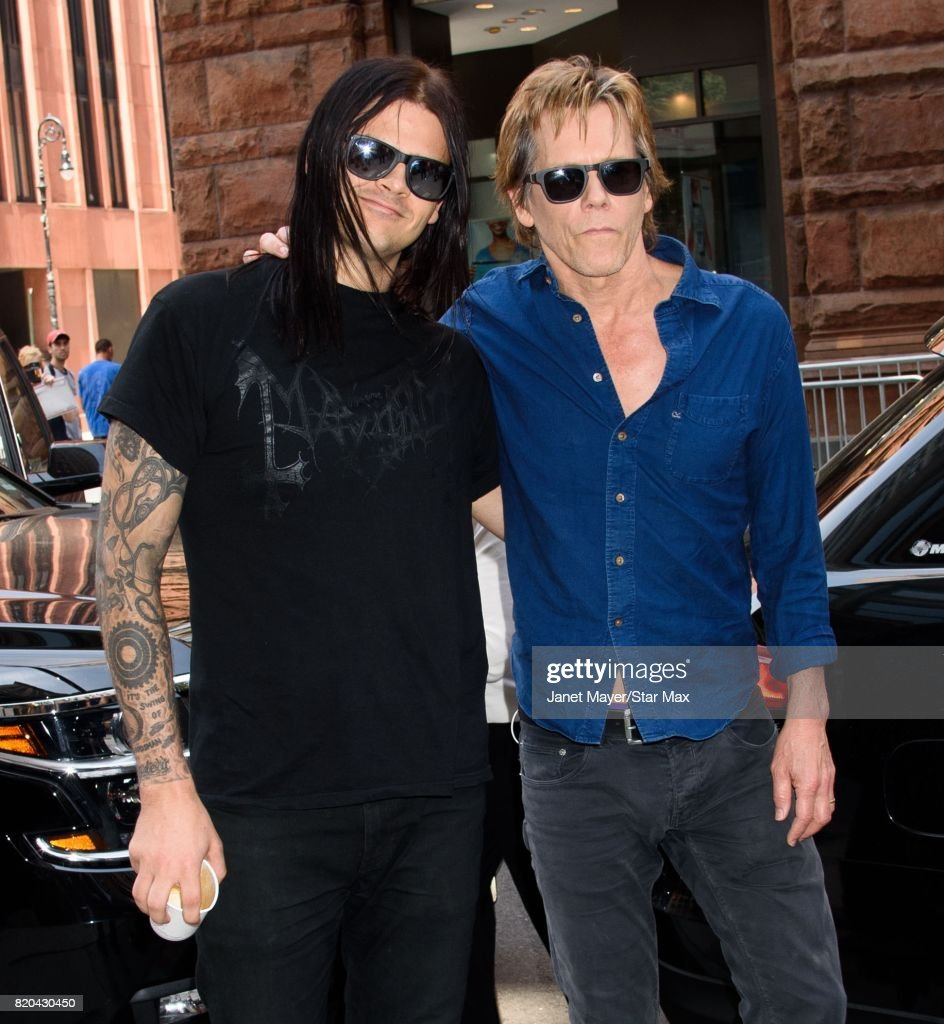 Celebrity Sightings In New York City - July 21, 2017 : News Photo