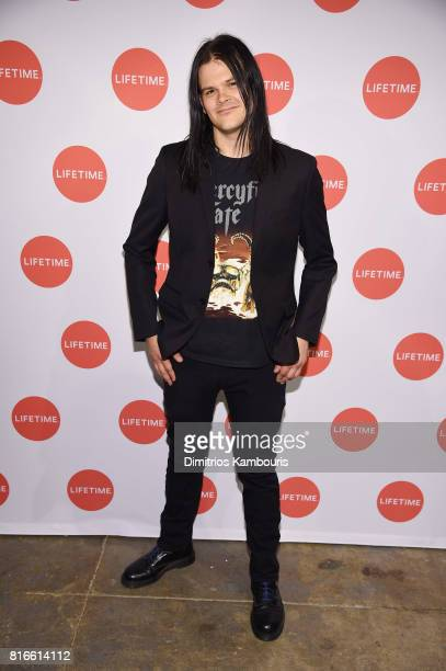 Travis Bacon attends the Story Of A Girl screening at Neuehouse on July 17 2017 in New York City