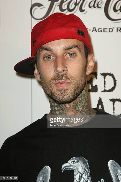 Travis Barker attends InTouch Weekly's ICONSIDOLS PostVMA Celebration at Chateau Marmont on September 7 2008 in Los Angeles California