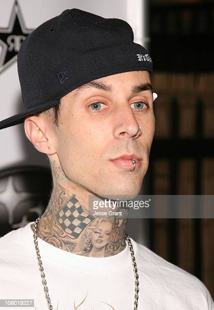 Travis Barker during DC Shoes/Subaru X Games Afterparty at Avalon in Hollywood California United States
