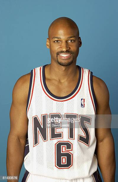 Travis Best of the New Jersey Nets poses for a portrait during NBA Media Day on October 4 2004 in East Rutherford New Jersey NOTE TO USER User...