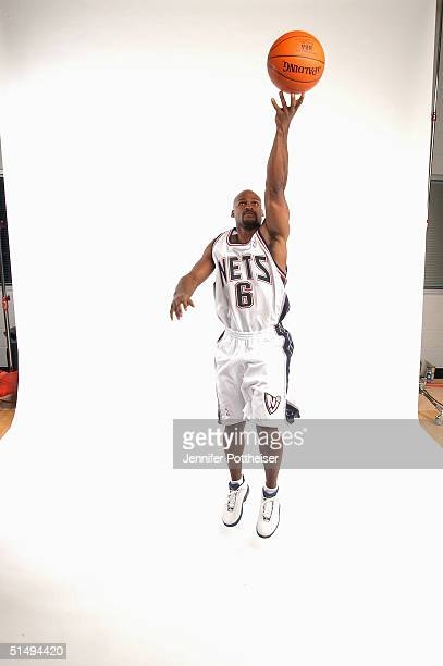 Travis Best of the New Jersey Nets poses for a portrait during NBA Media Day on October 4 2004 at the Champion Center in East Rutherford New Jersey...