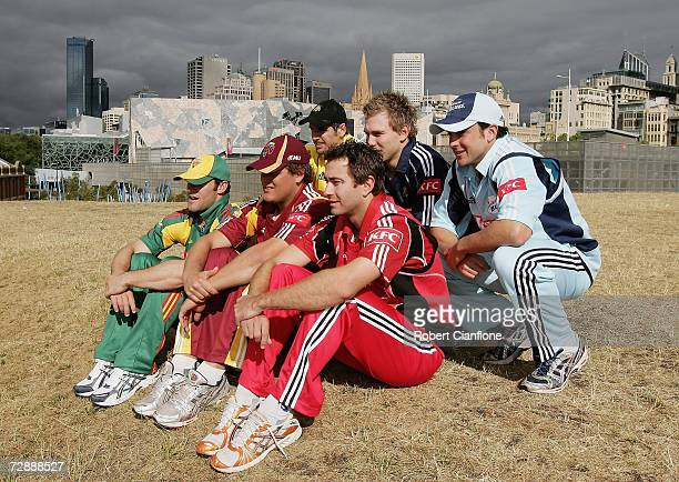 Travis Birt of Tasmania Nick Kruger of Queensland Peter Worthington of Western Australia Mark Cleary of South Australia Aiden Blizzard of Victoria...