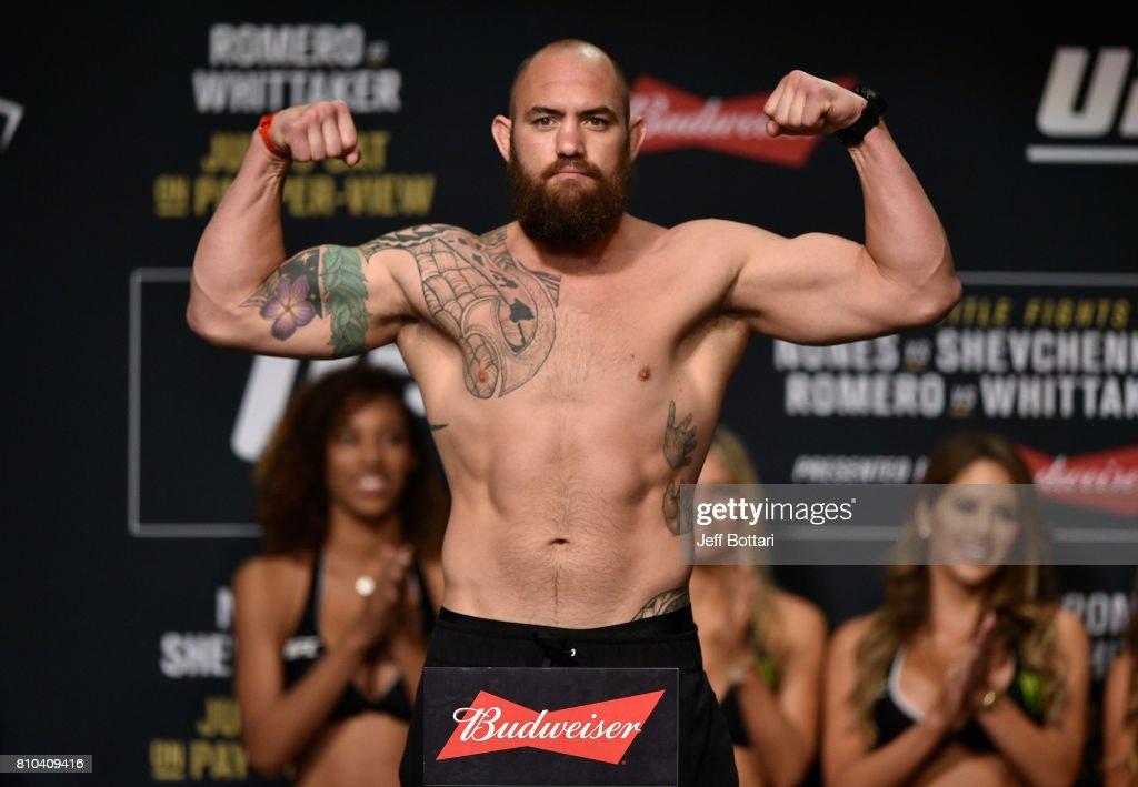 UFC 213: The Weigh-ins