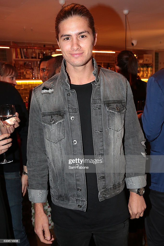 Travis Burns attends the Eat'aliano by Pino Italian Feast launch on May 23, 2016 in Melbourne, Australia.