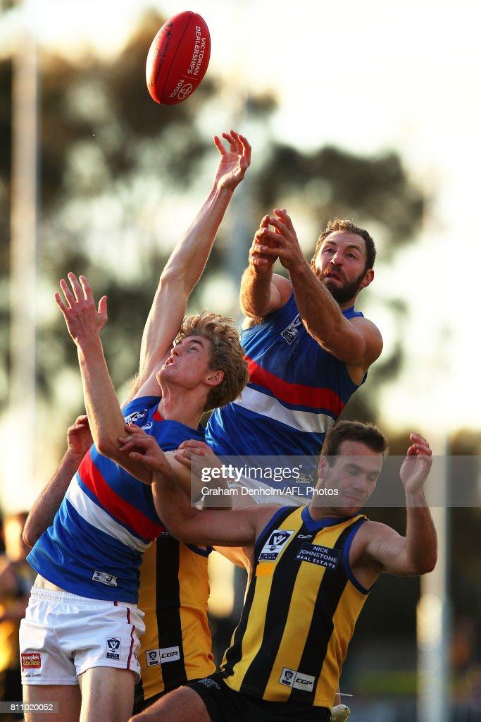 VFL Rd 12 - Sandringham v Footscray
