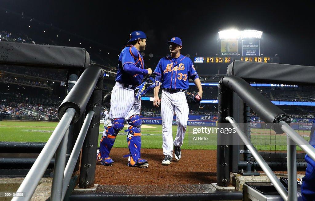 Atlanta Braves v New York Mets : Nachrichtenfoto
