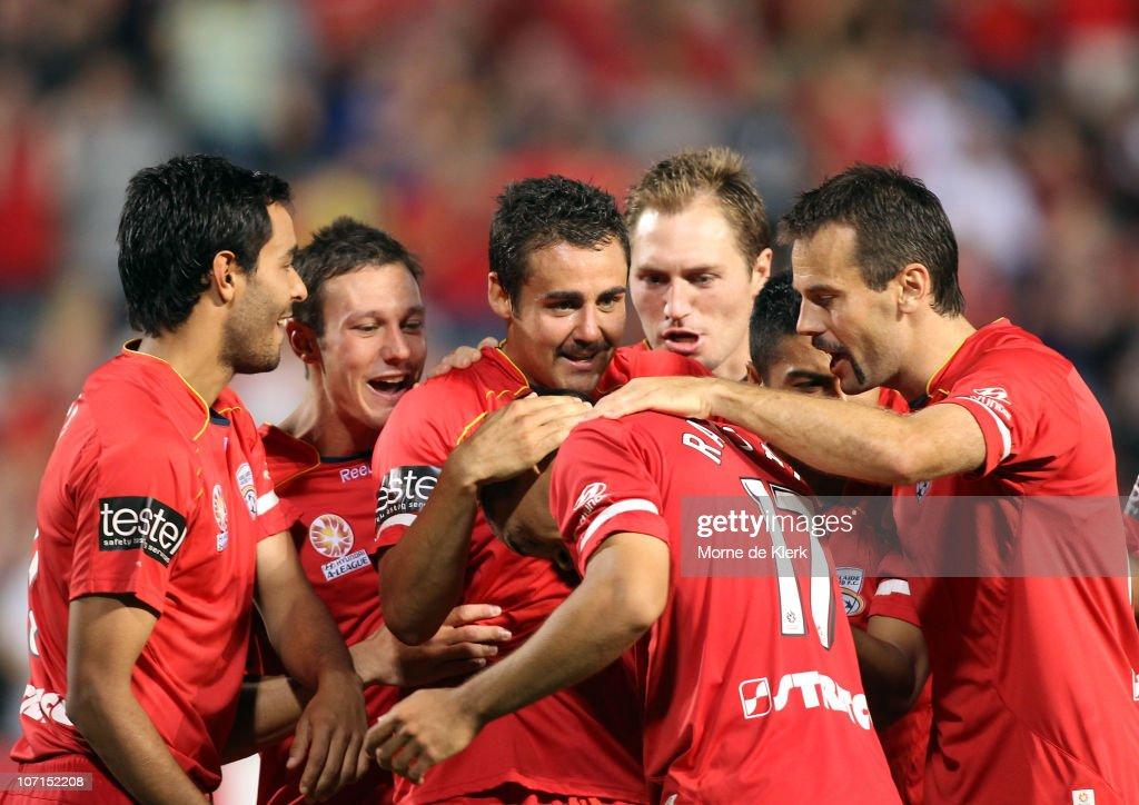 A-League Rd 16 - Adelaide v Gold Coast
