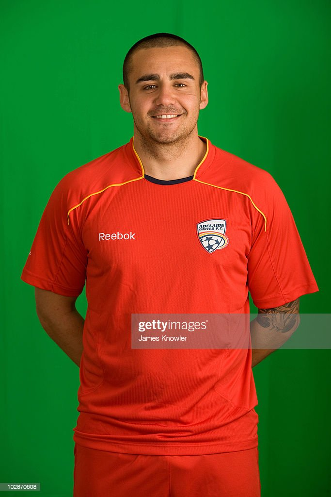 2010/11 A-League Headshots - Adelaide United