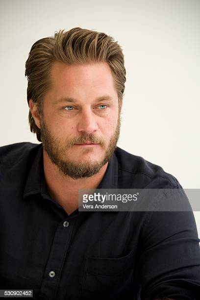 Travis Fimmel at the 'Warcraft' Press Conference at Universal Studios Hollywood on May 11 2016