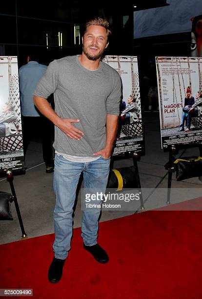 Travis Fimmel attends a special presentation of 'Maggie's Plan' at ArcLight Hollywood on April 26 2016 in Hollywood California