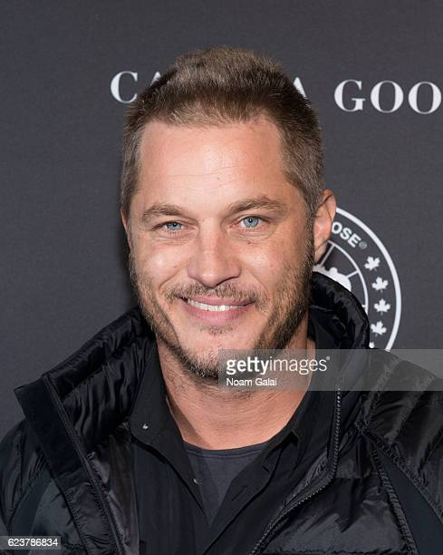 Travis Fimmel attends Canada Goose's US flagship grand opening at Canada Goose US Flagship on November 16 2016 in New York City