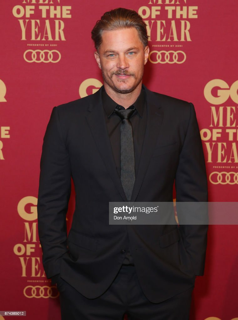 Travis Fimmel attends the GQ Men Of The Year Awards at The Star on November 15, 2017 in Sydney, Australia.