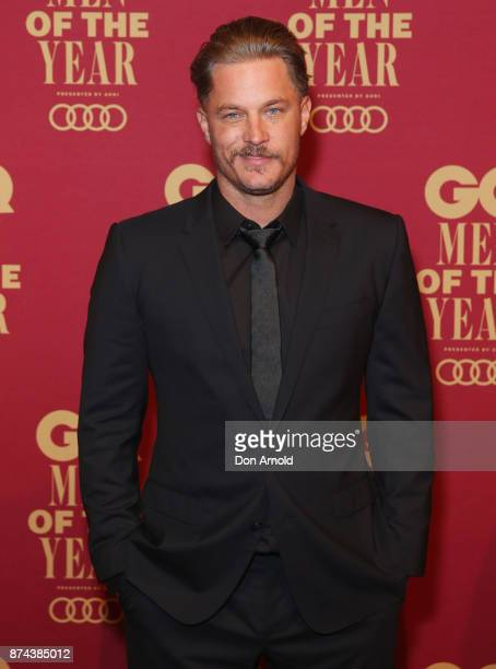Travis Fimmel attends the GQ Men Of The Year Awards at The Star on November 15 2017 in Sydney Australia