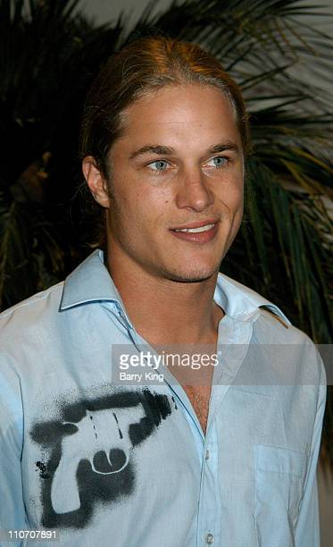 Travis Fimmel during The WB Presentation at Television Critics Association - Inside at Renaissance Hotel in Hollywood, California, United States.